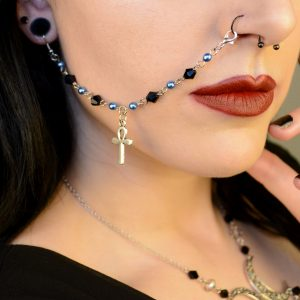 Nose / Lip To Ear Chains